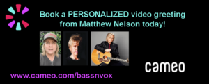 Book a Cameo Video Greeting from Matthew Nelson